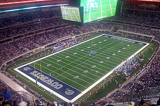 The home of the Dallas Cowboys - ATT Stadium.